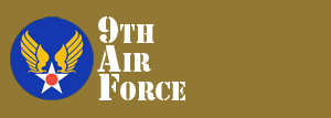 9th Air Force Website Logo