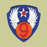 9th Army Air Forces WW2 Patch